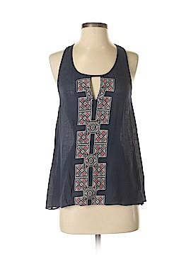 Le Sample Short Sleeve Blouse Size M