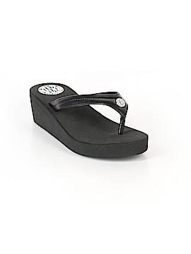 Donna Karan New York Flip Flops Size 9