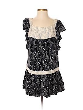 Leifsdottir Short Sleeve Silk Top Size 4