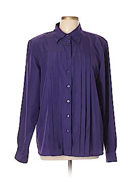 Liz Baker Essentials Long Sleeve Blouse Size 16 (Tall)