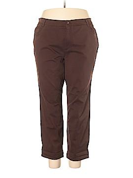 Gloria Vanderbilt Khakis Size 24 (Plus)