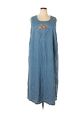 Lemon Grass Casual Dress Size 2X (Plus)