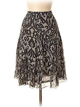 RENA LANGE Silk Skirt Size 8