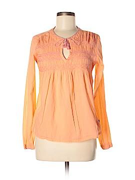 PrAna Long Sleeve Blouse Size M