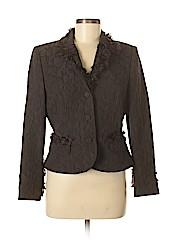 Albert Nipon Women Wool Blazer Size 8