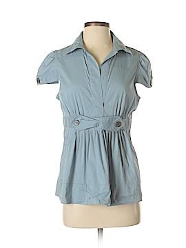 BCBGMAXAZRIA Short Sleeve Blouse Size M