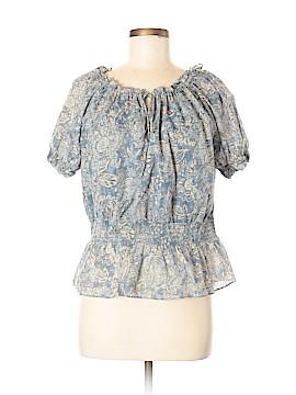 Chaps Short Sleeve Blouse Size L