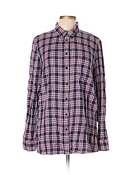 Gap Long Sleeve Button-Down Shirt Size XL (Tall)
