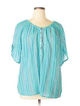 Rebecca Malone Short Sleeve Blouse Size 2X (Plus)