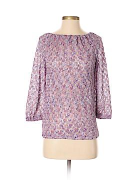 Trina Turk Long Sleeve Blouse Size P