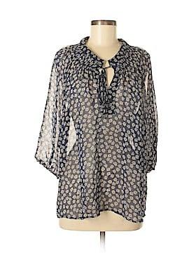 Downeast 3/4 Sleeve Blouse Size XL