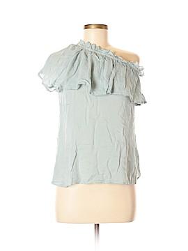 Hinge Short Sleeve Blouse Size M