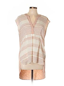 Anthropologie Short Sleeve Blouse Size L