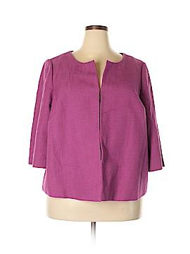 Relativity Silk Blazer Size 20 (Plus)