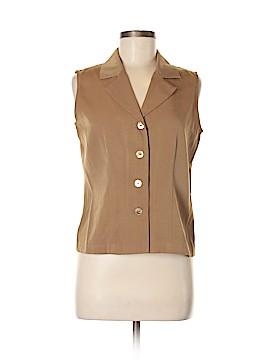 AB Studio Sleeveless Button-Down Shirt Size 6