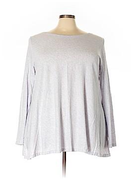 Purejill 3/4 Sleeve Top Size 3X (Plus)