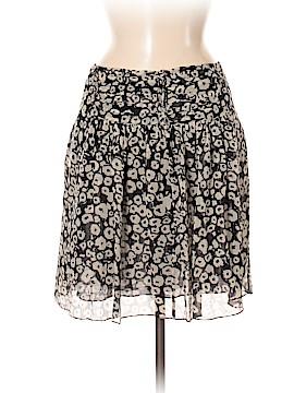 Burberry Brit Silk Skirt Size 8