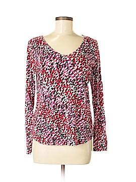 Liz Claiborne Long Sleeve Top Size M (Petite)