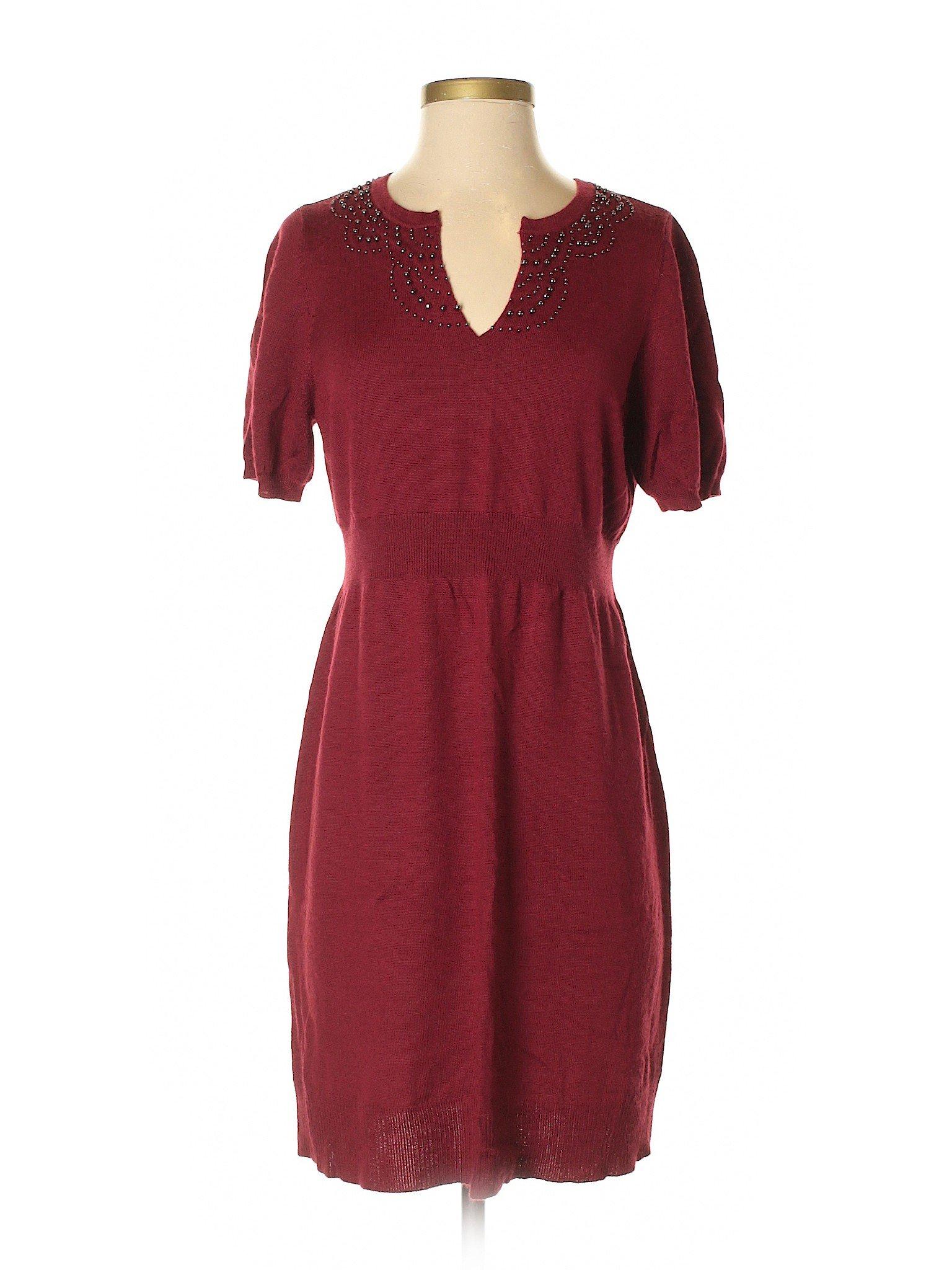Casual Dress Ann Boutique winter Taylor LOFT 76ggFSq