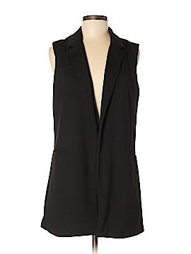 Adrienne Vittadini Tuxedo Vest Size M