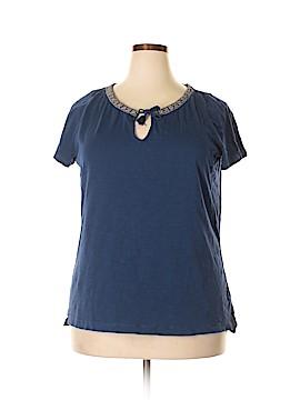 L-RL Lauren Active Ralph Lauren Short Sleeve Top Size 1X (Plus)