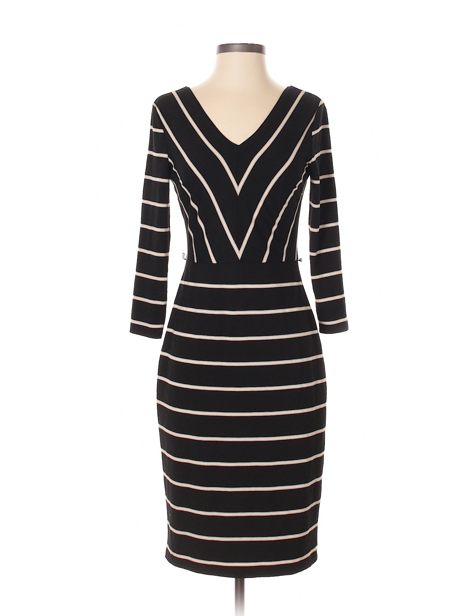 Selling Market Casual White House Dress Black rqrvt
