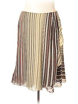 Jones New York Silk Skirt Size 18 (Plus)