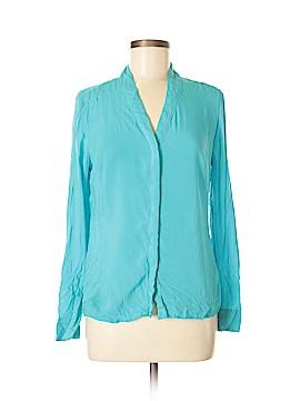 Worthington Long Sleeve Button-Down Shirt Size M