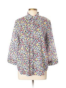 Ralph Lauren 3/4 Sleeve Button-Down Shirt Size XL