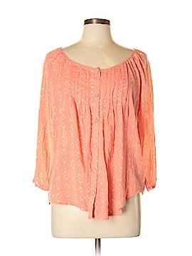 SONOMA life + style 3/4 Sleeve Blouse Size L