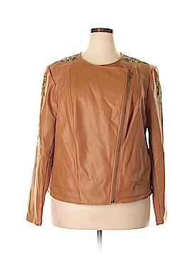 G by Giuliana Rancic Faux Fur Jacket Size 2X (Plus)