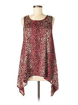 Luxe Apothetique Sleeveless Silk Top Size M