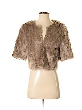 BCBGeneration Faux Fur Jacket Size S