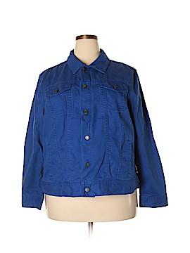 Talbots Denim Jacket Size 2X (Plus)