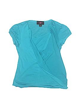 Iz Byer Short Sleeve Top Size 10 - 12