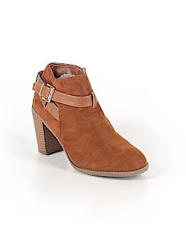 Shoedazzle Ankle Boots Size 8 1/2
