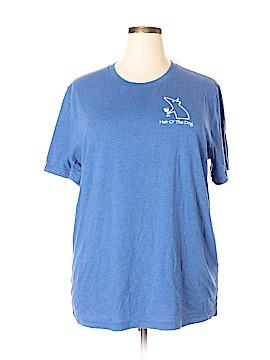 Canvas Short Sleeve T-Shirt Size 2X (Plus)