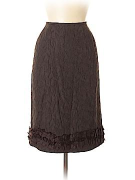 Albert Nipon Wool Skirt Size 8