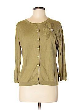 Garnet Hill Silk Cardigan Size M