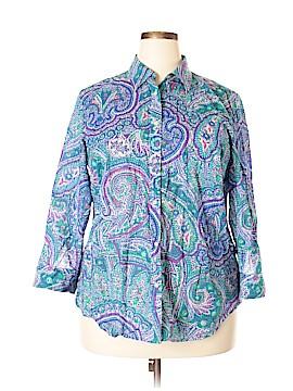 Ralph Lauren Long Sleeve Button-Down Shirt Size 1X (Plus)