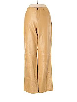 Ralph Lauren Black Label Leather Pants Size 4