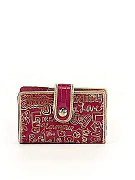 Coach Heart Poppy Wallet One Size