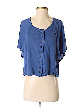 Patterson J. Kincaid Short Sleeve Button-Down Shirt Size XS