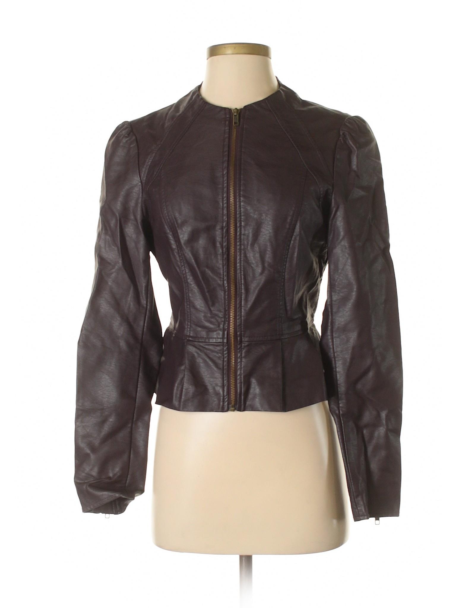 Jacket Elle leisure Boutique Leather Faux q7Uwxwn