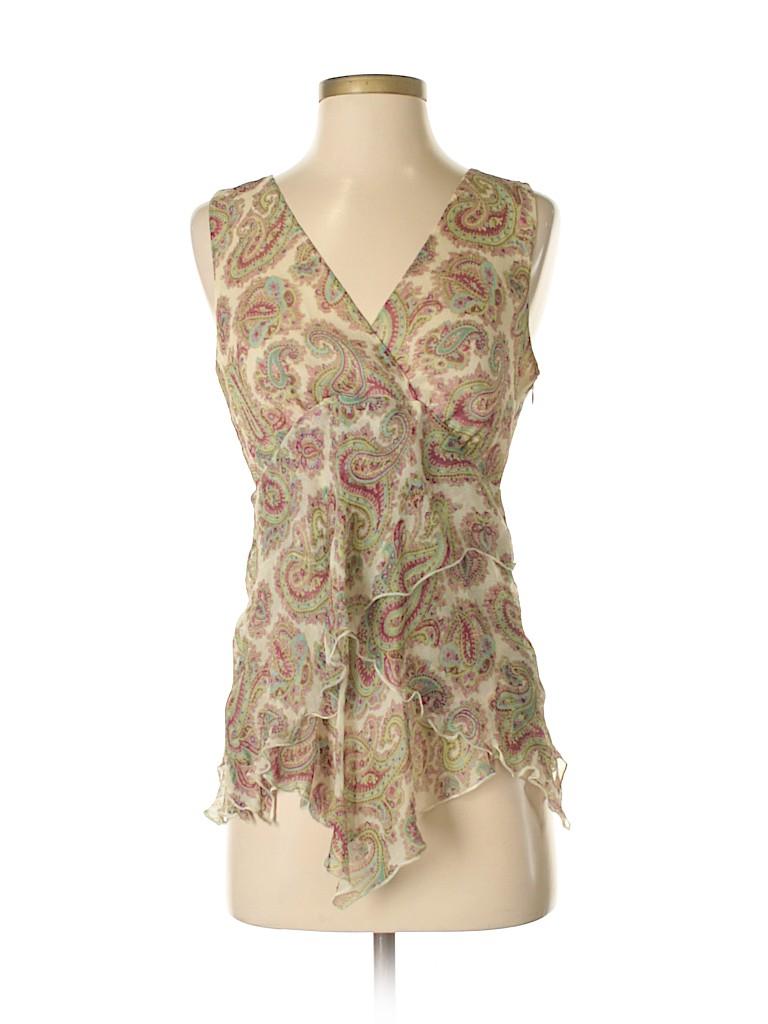Karen Kane Women Sleeveless Silk Top Size 4