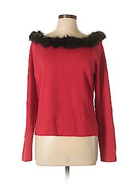 Boston Proper Long Sleeve Silk Top Size L