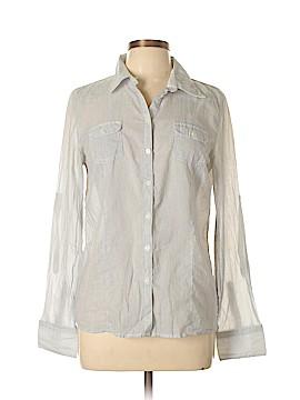 Delia's Long Sleeve Button-Down Shirt Size L