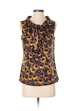 An original MILLY of New York Sleeveless Silk Top Size 4