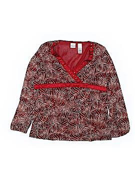 Emma James Long Sleeve Blouse Size XL