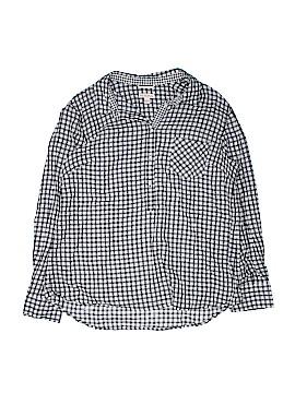 Merona Long Sleeve Button-Down Shirt Size XXL